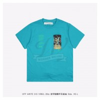 Off White Pascal Painting S/S Over T-shirt Green