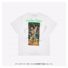 Off White Pascal Painting S/S Over T-shirt White