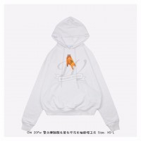 Off-White Pascal Skeleton Hoodie in White