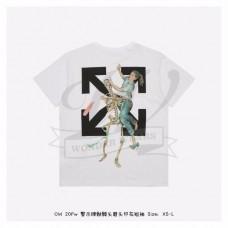 Off-White Pascal Skeleton Print T-shirt in White