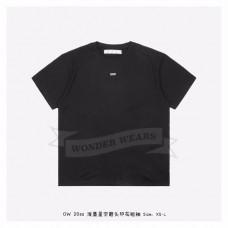 Off-White STENCIL S/S OVER T-SHIRT Black