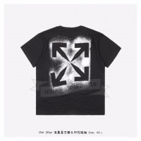 Off-White STENCIL S/S OVER T-SHIRT Black