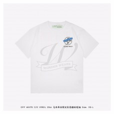 Off White TAPE ARROWS S/S T-SHIRT Malaysia Only White