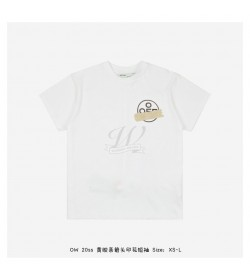 Off White 20ss Yellow Tape Arrows T-shirt