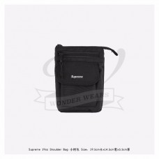 Supreme 19SS Shoulder Bag Black