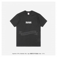 Supreme Bandana Box Logo Print T-shirt Black
