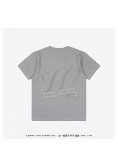 Supreme Bandana Box Logo Print T-shirt Gray