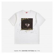 Supreme 19FW MJB Character Print T-shirt White