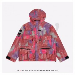 Supreme x The North Face Tooling Jacket Pink Camouflage