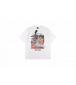 Stussy x Virgil Abloh World Tour Collection T-Shirt White