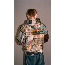 Supreme 21SS Dash's Wall Hooded Sweatshirt