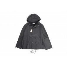 TB Hooded Tonal 4-BAR Jacket