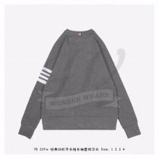 TB Medium Grey Raglan Sleeve 4-bar Sweatshirt