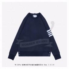 TB Navy Raglan Sleeve 4-bar Sweatshirt