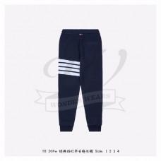 TB Navy Waffle 4-bar Stripe Sweatpants