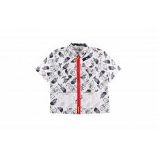 TNF x Brain Dead Boxy Mountain Shirt