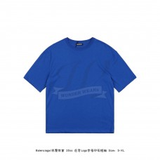 BC LOGO REGULAR FIT T-SHIRT Blue